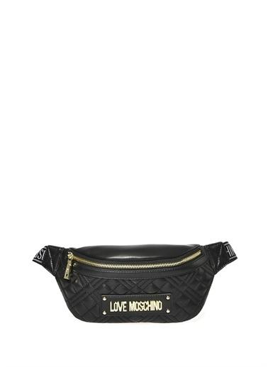 Love Moschino Love Moschino Bel Çantası Siyah